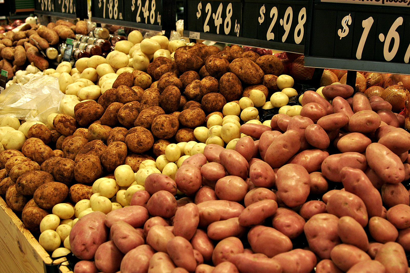 Kartoffelvarietäten (Quelle: Wikipedia)