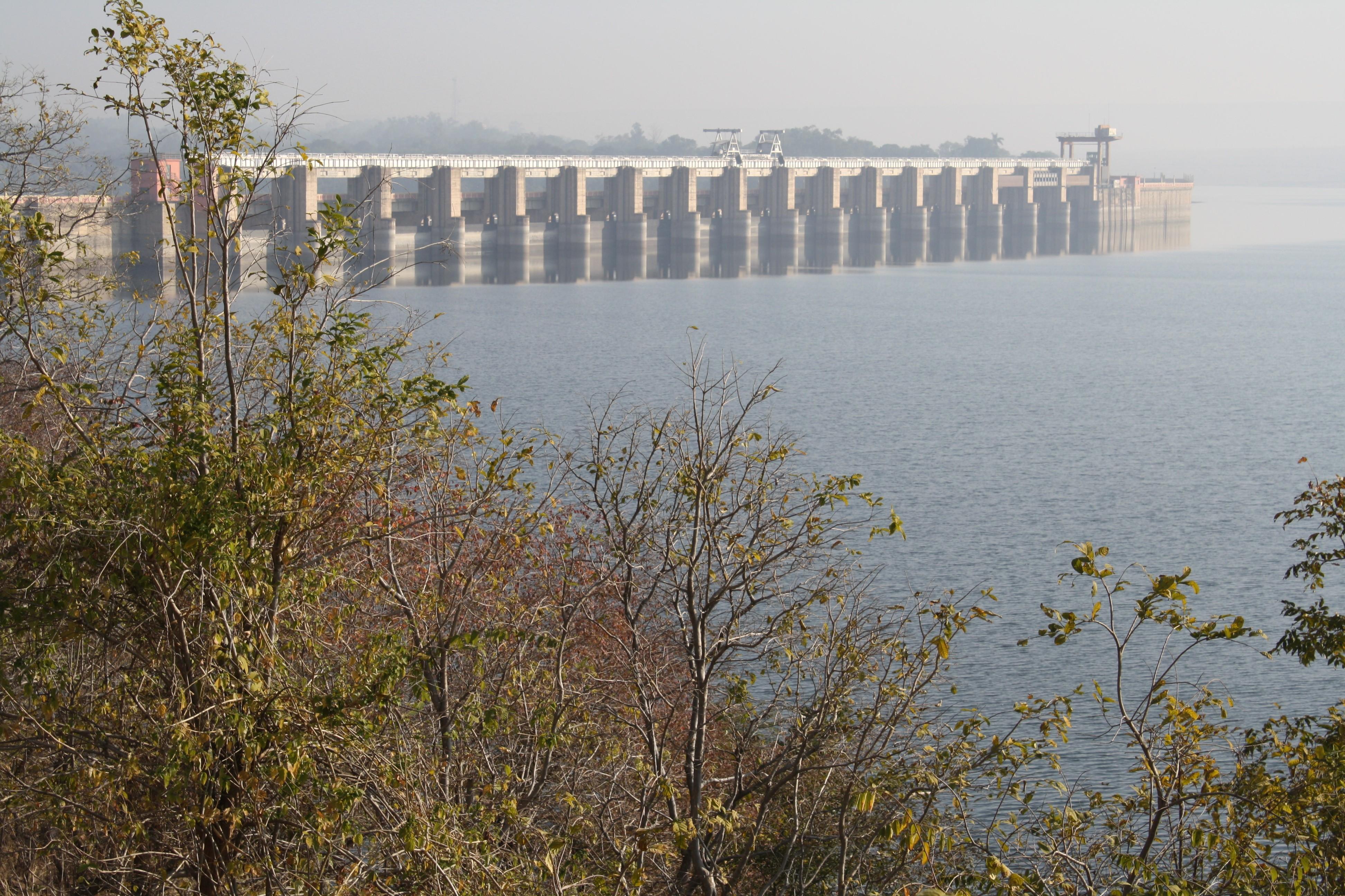 View of Ranapratap Dam from Upstream side.jpg
