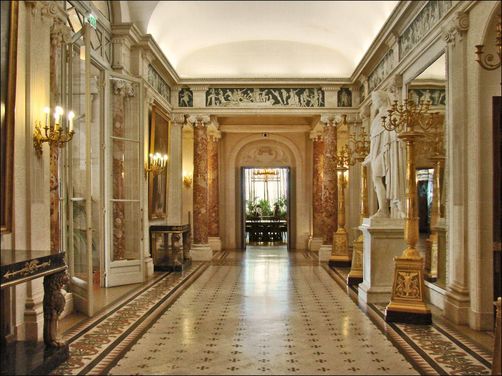 Interiors of Musée Masséna