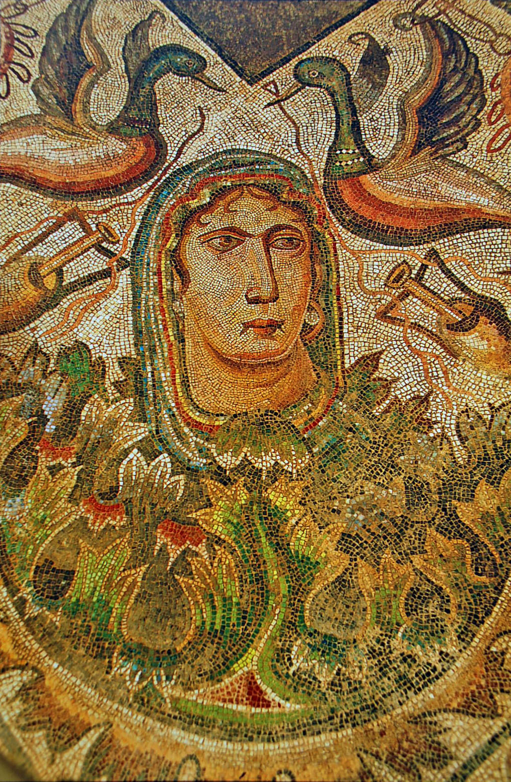 File villa romana de la olmeda mosaicos romanos 006 spring for Mosaico romano