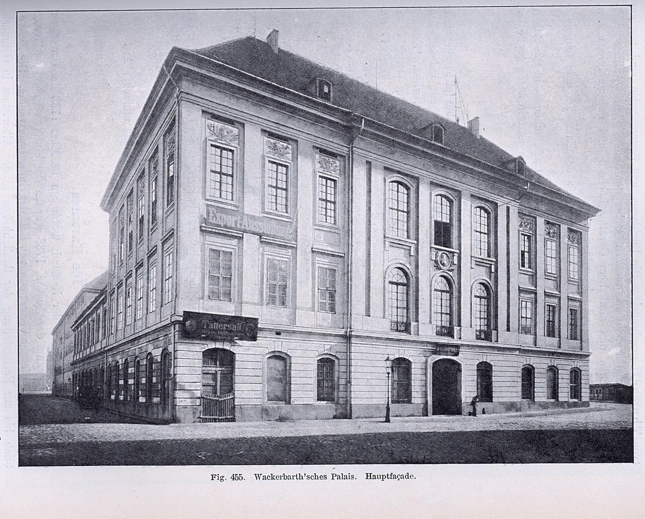 Architekten In Dresden file wackerbarth sches palais dresden ritterakademie erbaut 1728