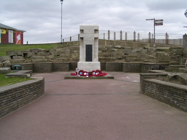 War Memorial on Sea Front, Sutton on Sea - geograph.org.uk - 143682