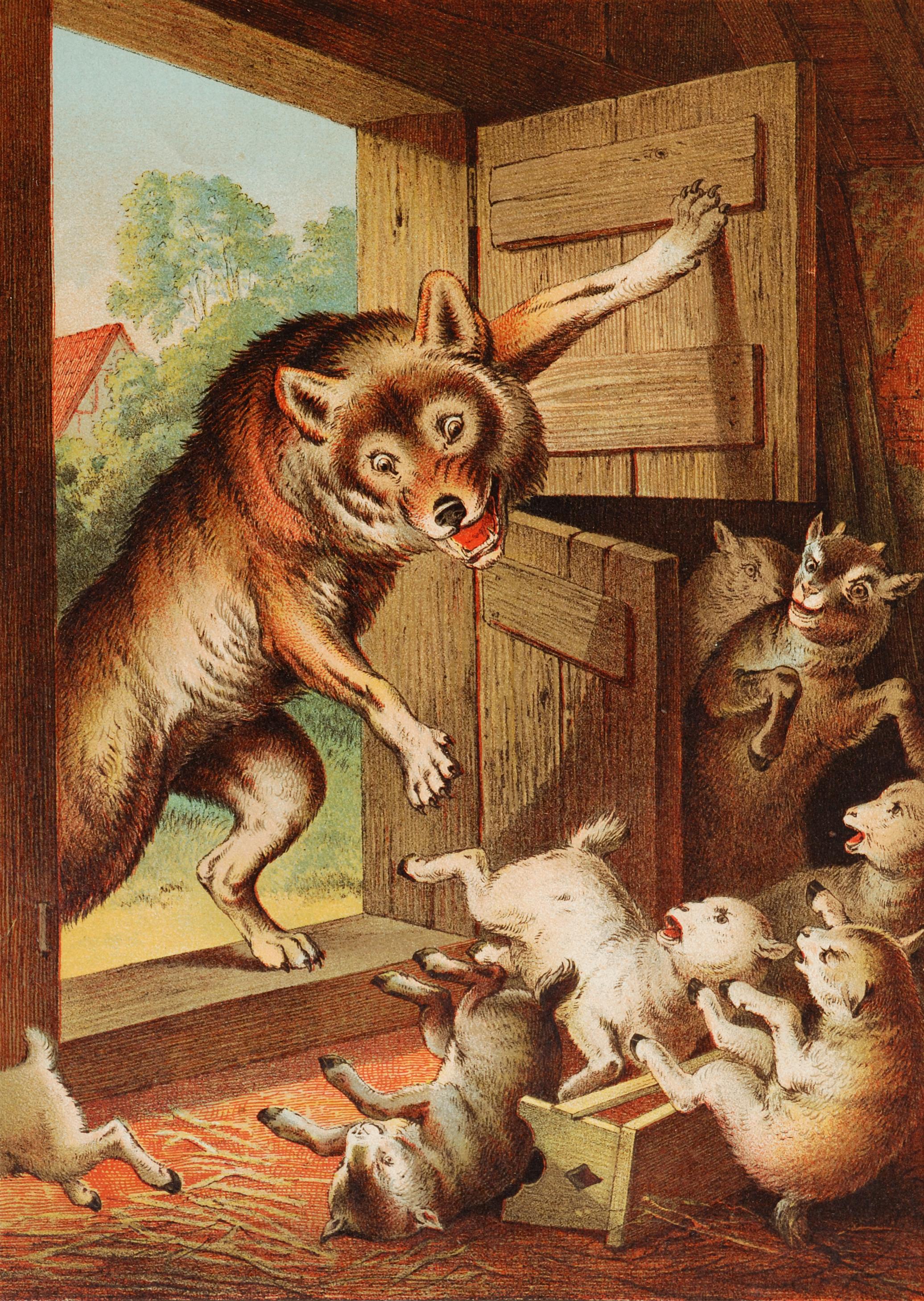 El Lobo Y Las Siete Cabritillas Wikipedia La Enciclopedia