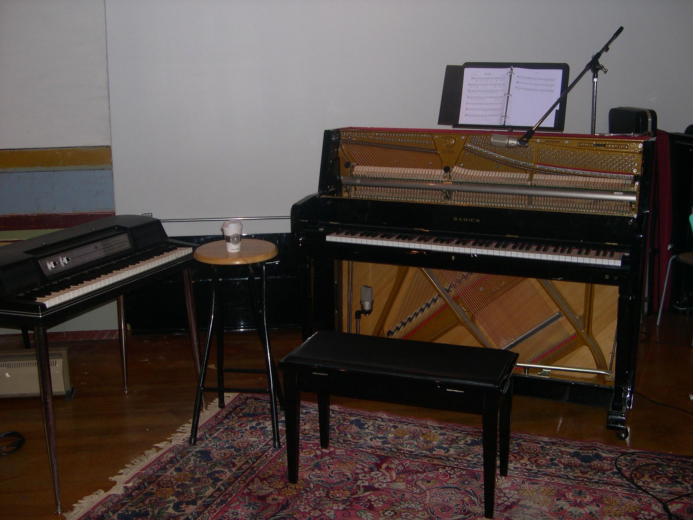 File Wurlitzer Electric Piano Upright Piano Detaching
