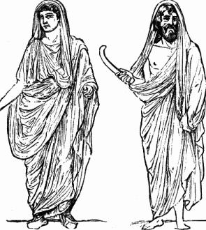 Modelli di toga e di pallio. I cittadini romani ... 61bdba37517
