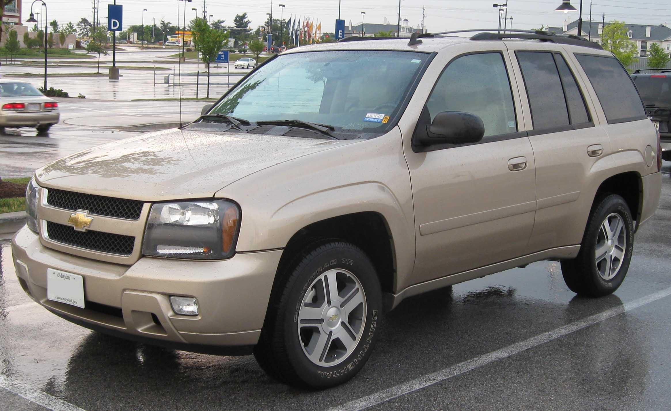 2008 Chevrolet Trailblazer | Car Interior Design