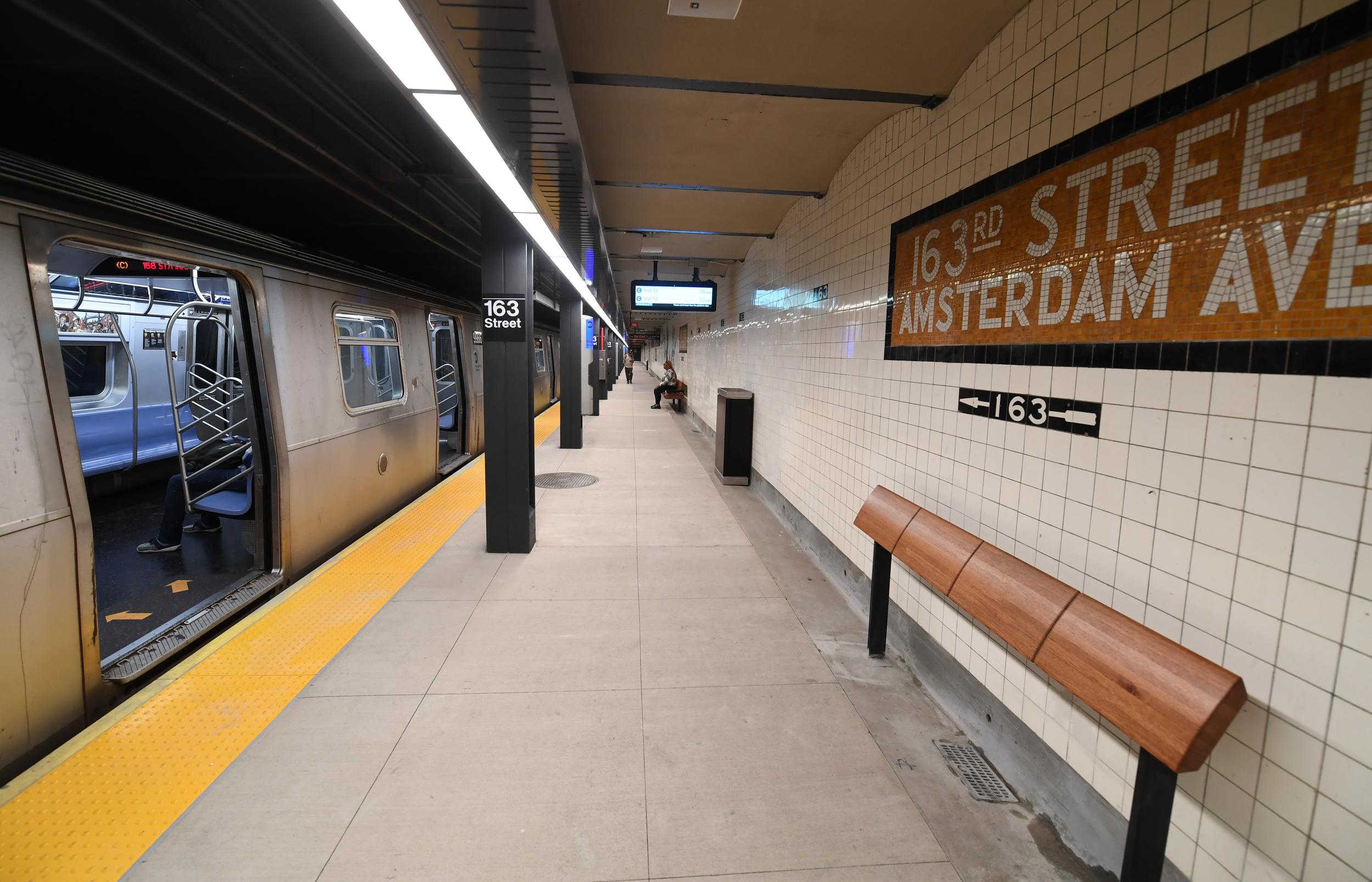 72nd Street Subway Map.163rd Street Amsterdam Avenue Station Wikipedia