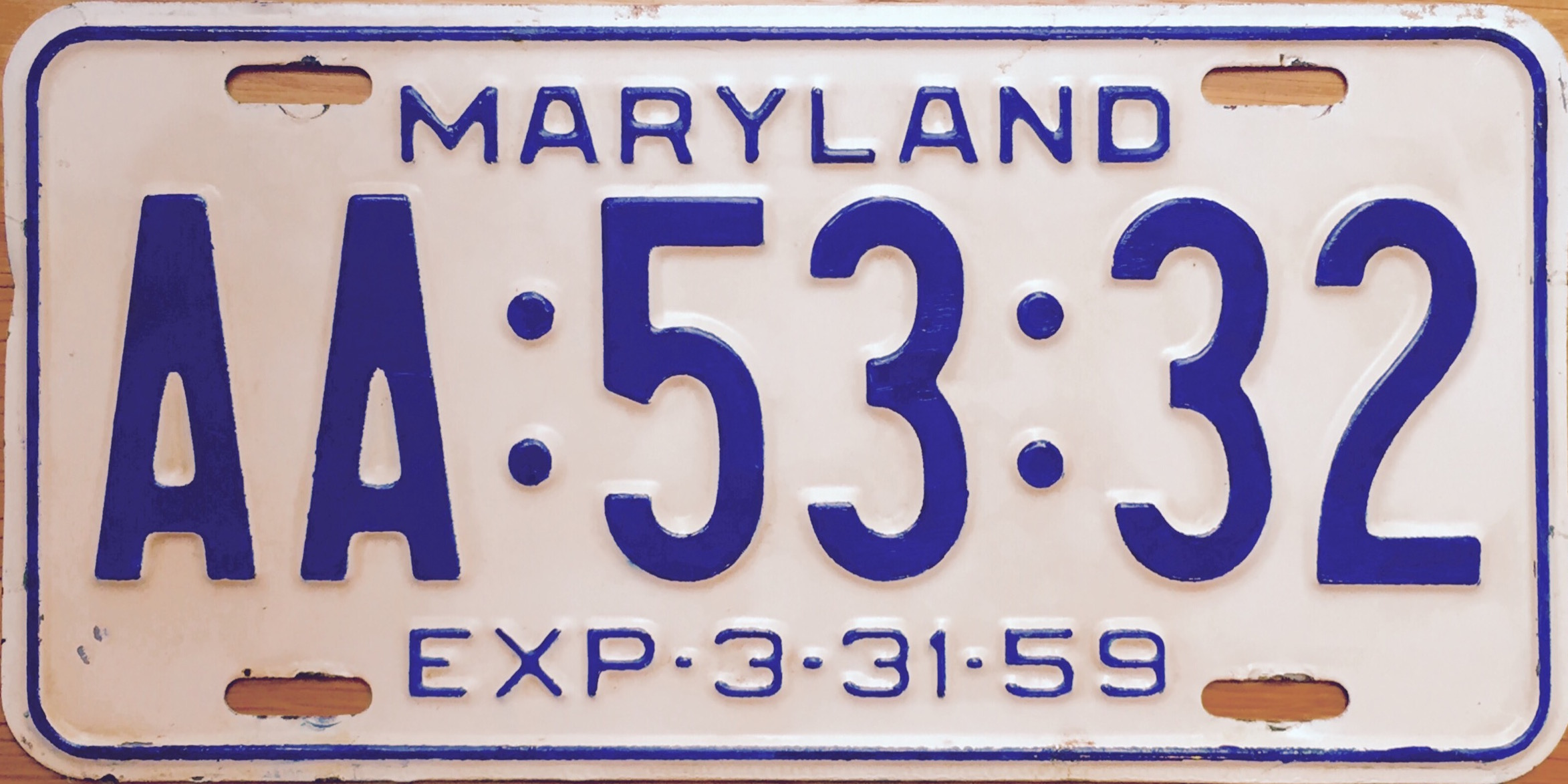 File:1958-59 Maryland license plate.jpg - Wikipedia