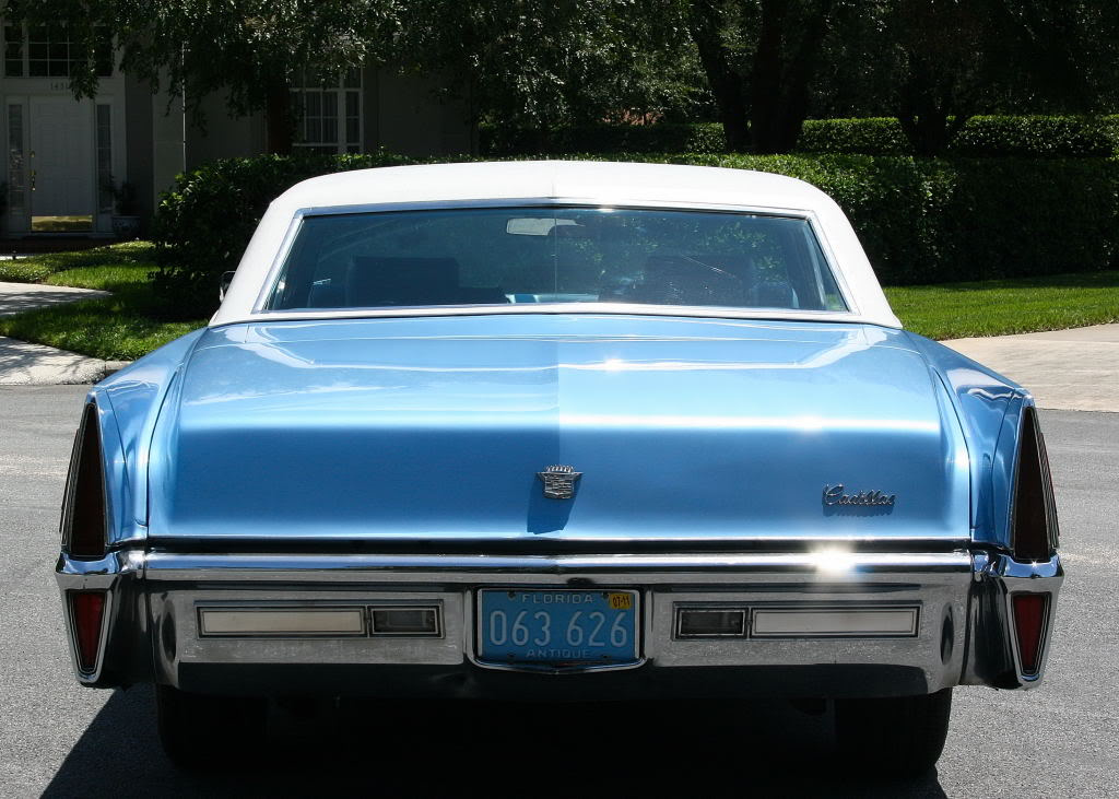 File 1970 Cadillac Coupe Deville Rear Jpg Wikimedia Commons