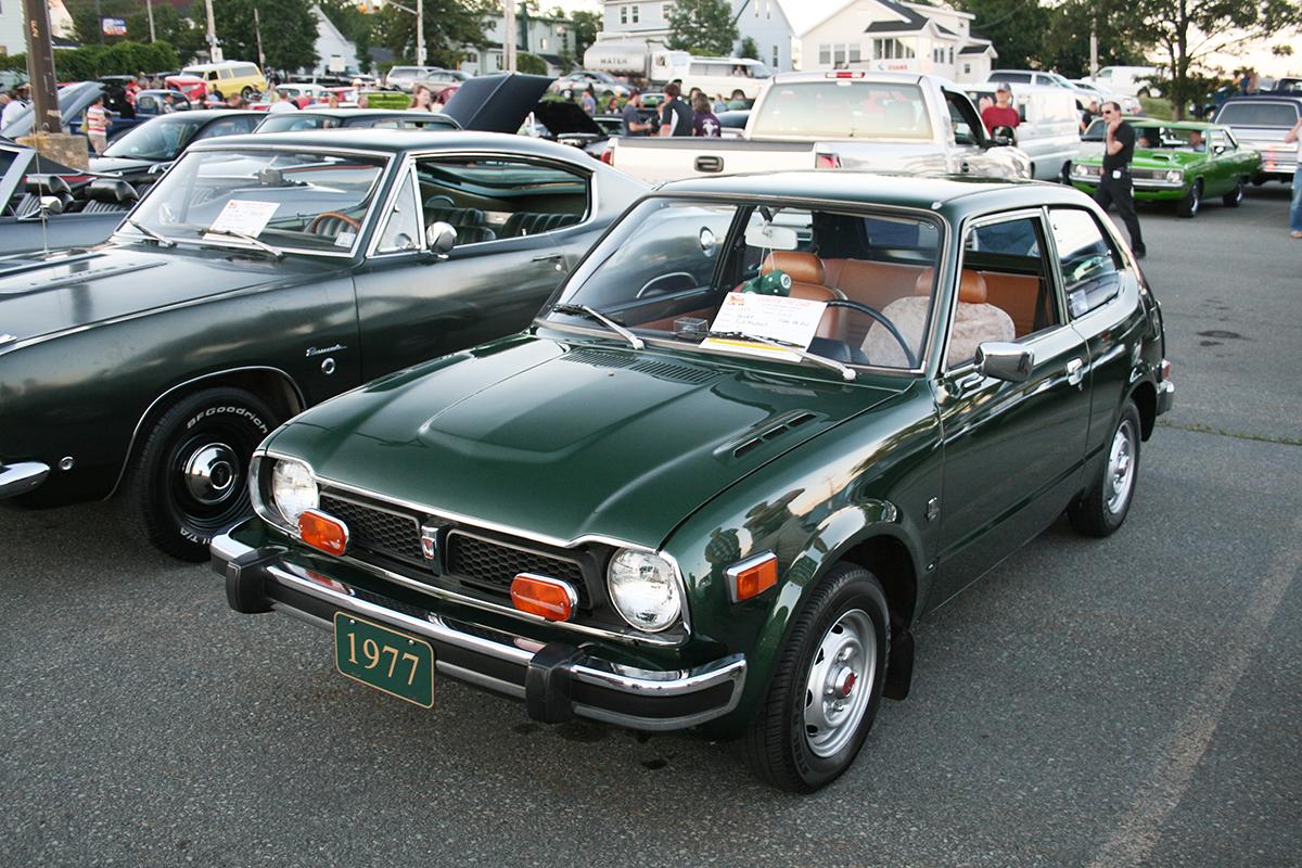 File:1977 Honda Civic Front.jpg - Wikimedia Commons