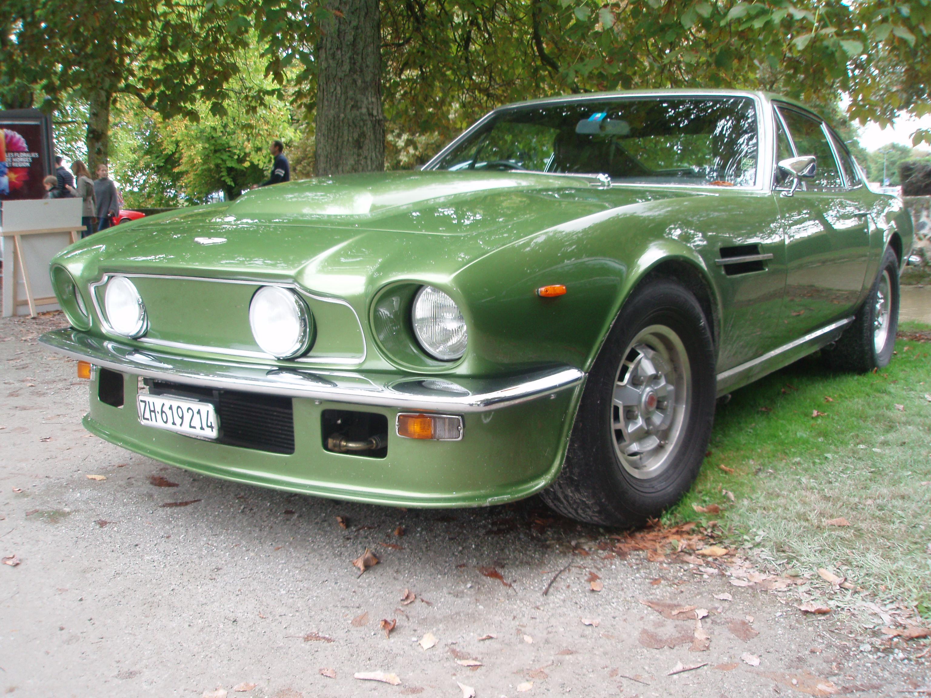 File 1978 Aston Martin V8 Vantage Fliptail In Morges 2013 Front Left Level Jpg Wikimedia Commons