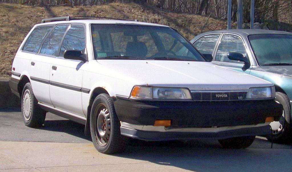 File 1990 Toyota Camry Dx V6 Wagon Jpg Wikimedia Commons