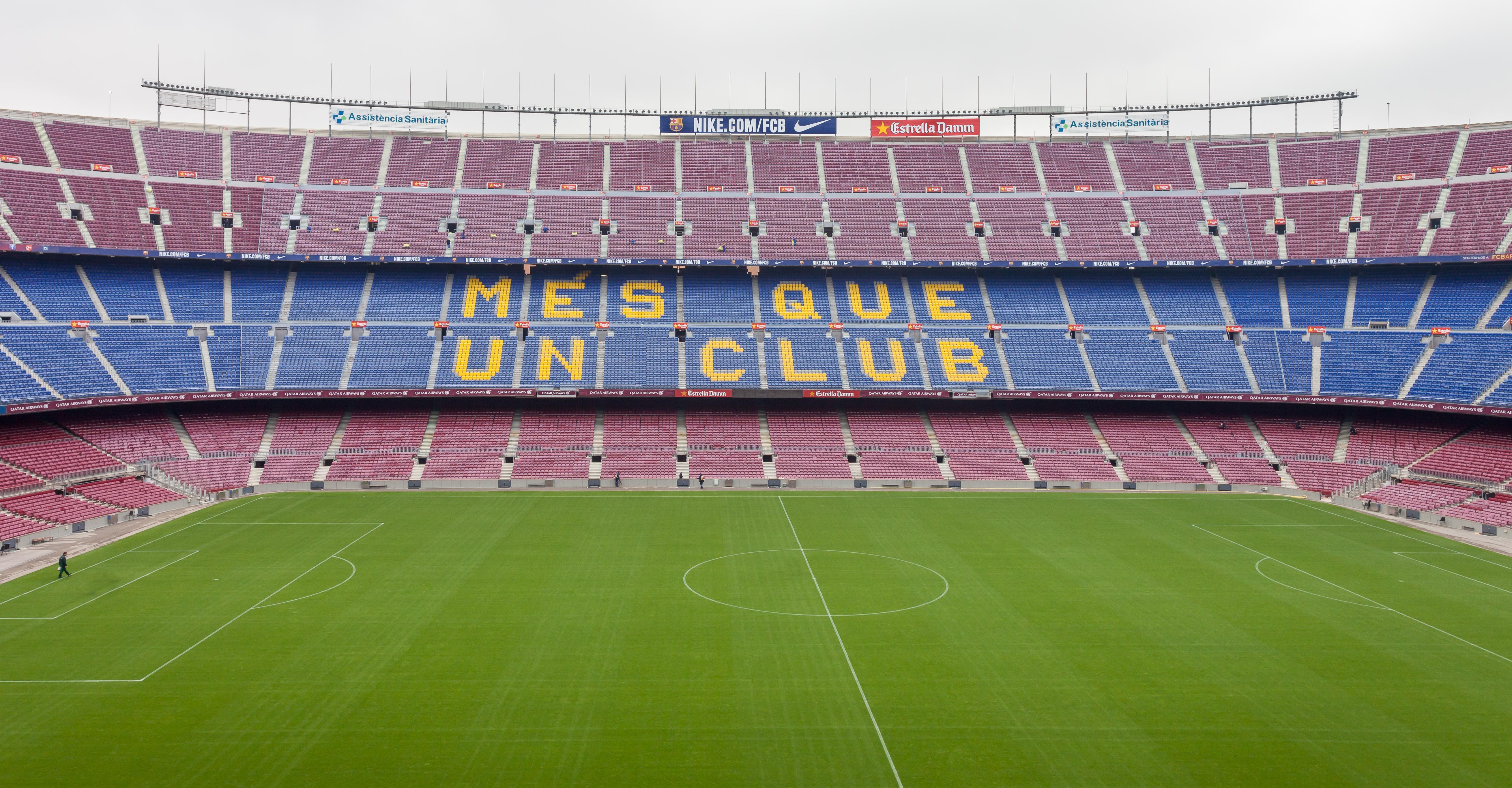 2014 Camp Nou Més que un club Barcelona B40