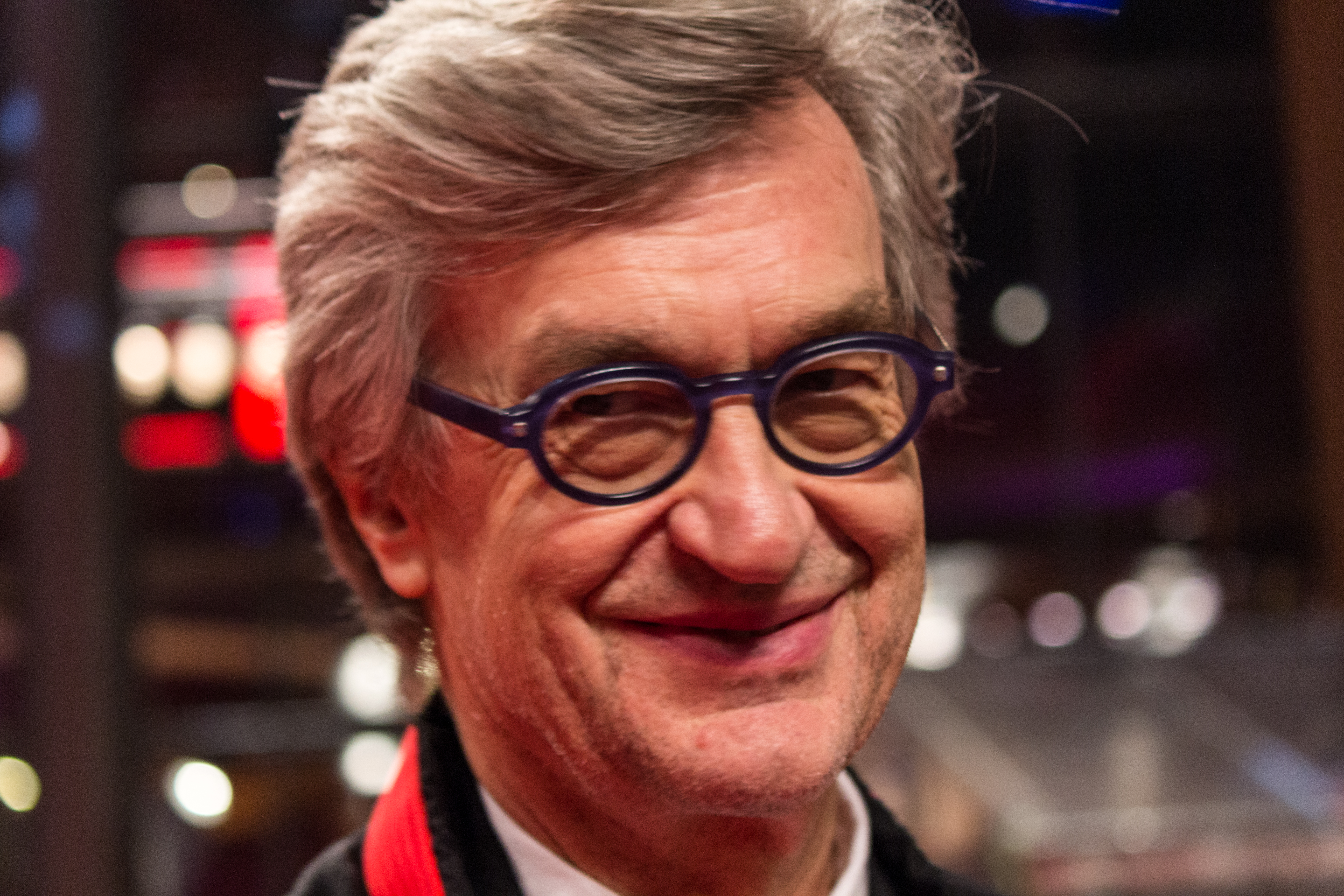 Depiction of Wim Wenders