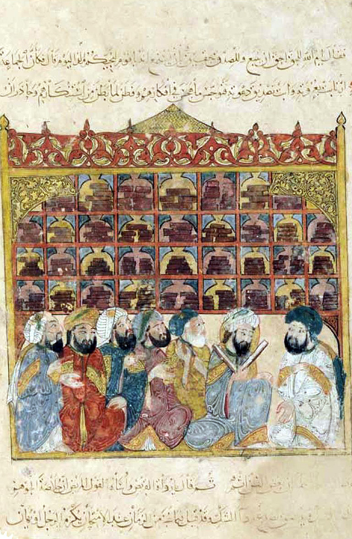 A Library in Golden Islamic Age.jpg