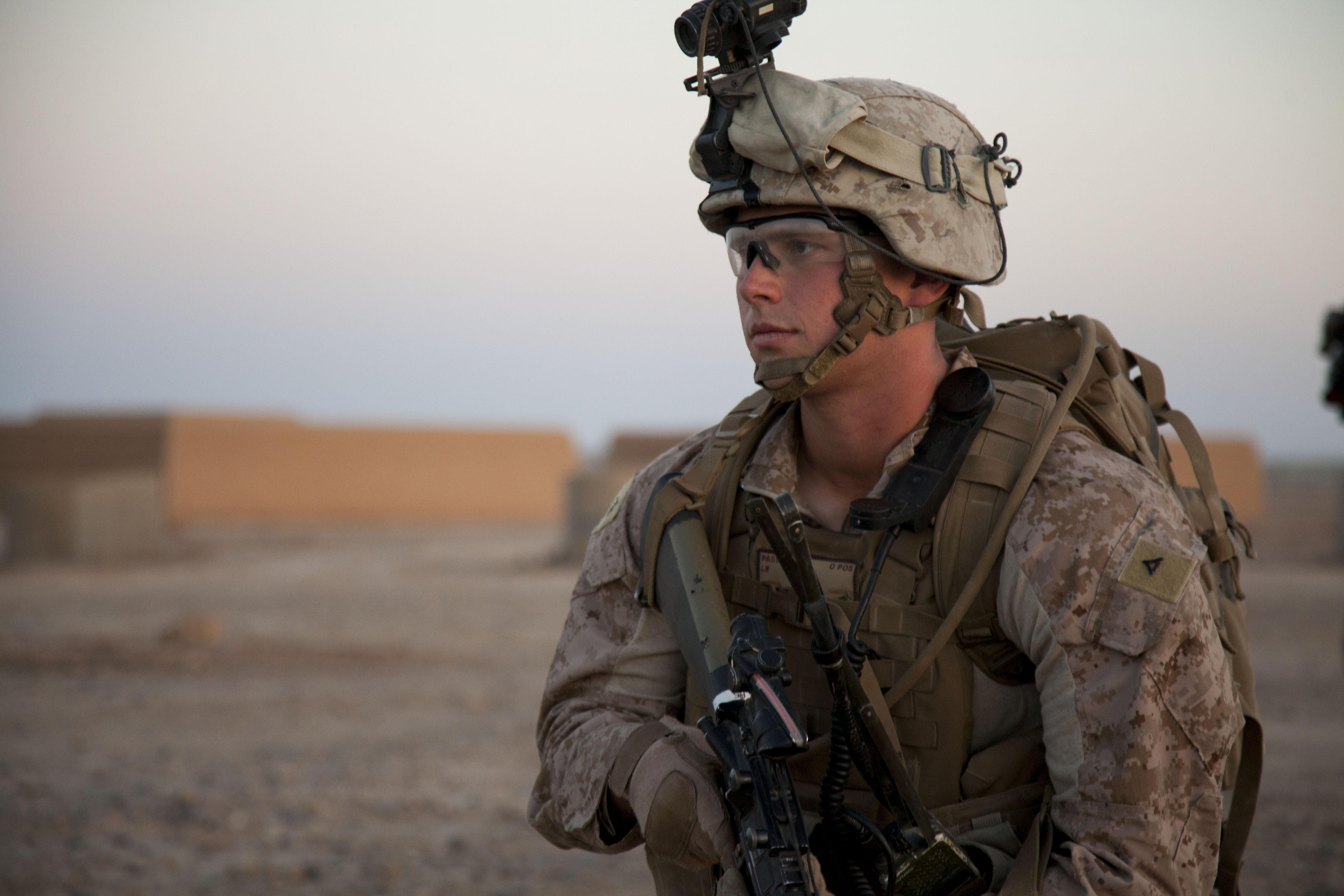 File:A U.S. Marine with Fox Company, 2nd Battalion, 8th ...
