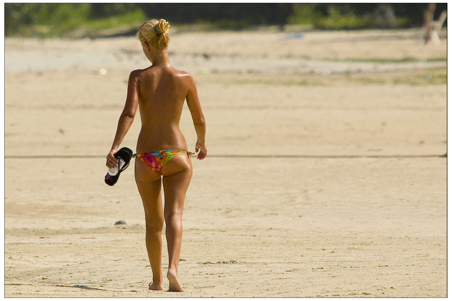 To The Girl Showing Her Entire Butt At The Beach, You Do You