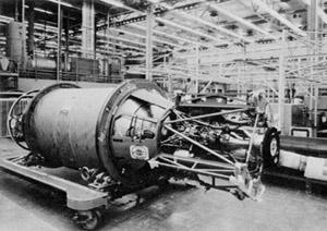 XLR81 rocket engine