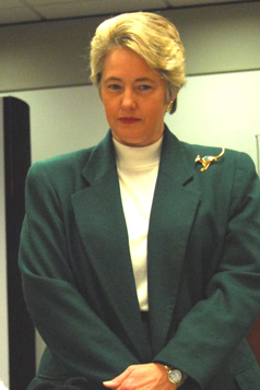 English: Annise Parker, city controller of Hou...
