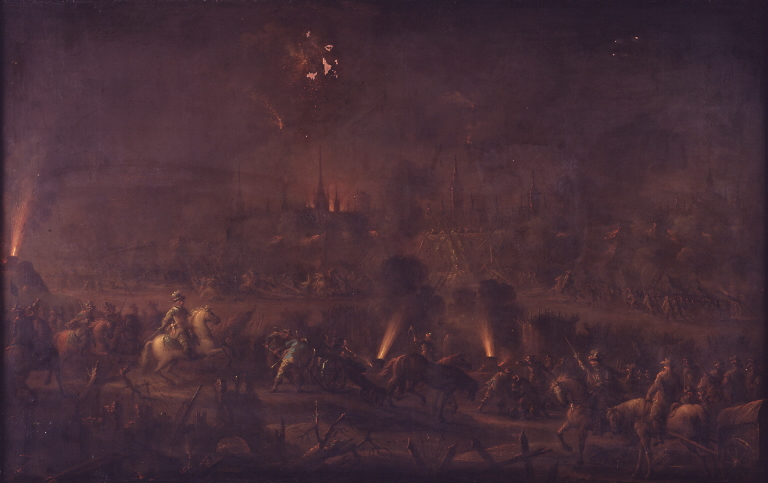 File:Anthon Christoffer Rüde - Wismars bombardement - KMS804 - Statens Museum for Kunst.jpg