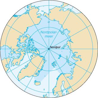 Nordpolarmeer Karte.Arktischer Ozean Alemannische Wikipedia
