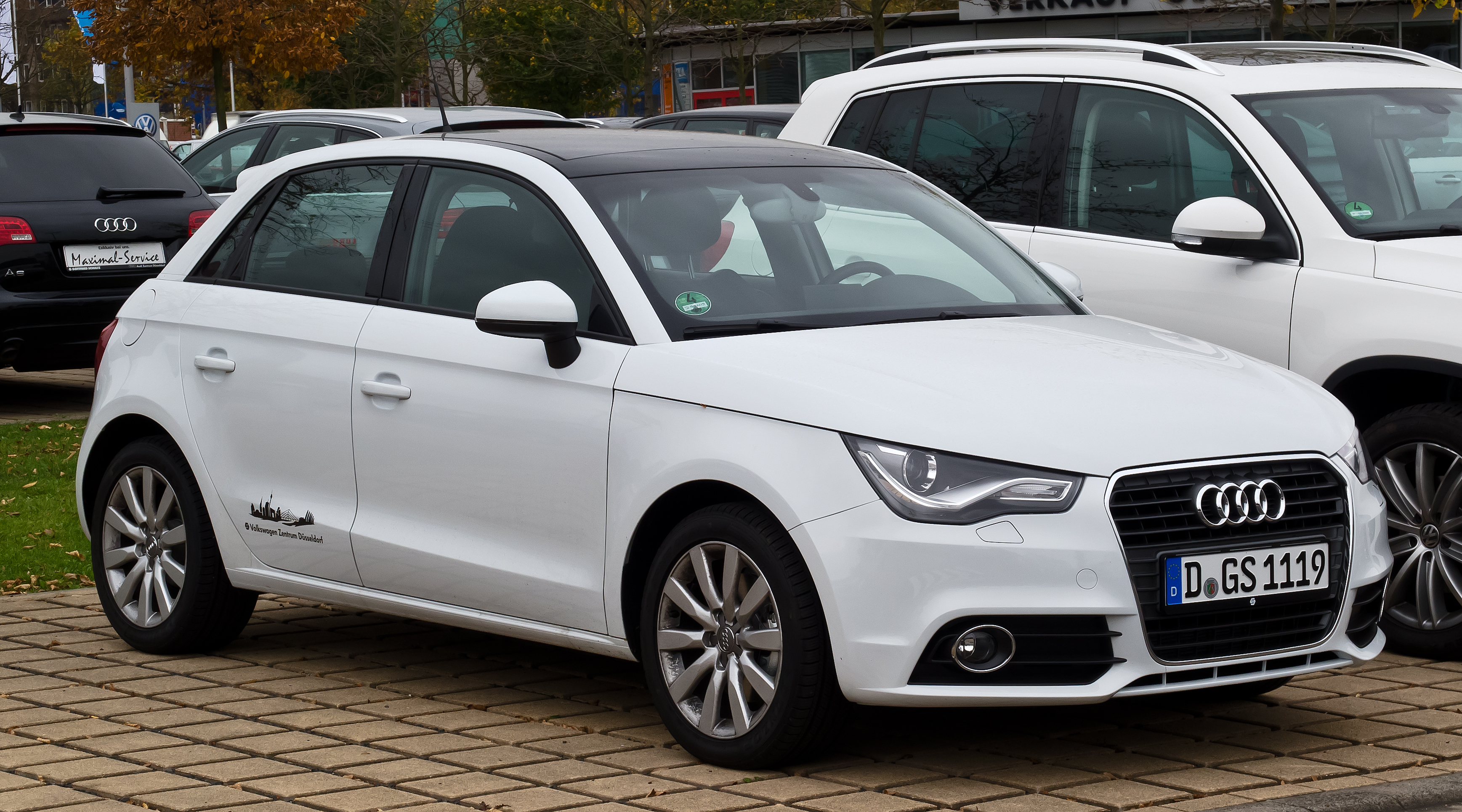 Audi a1 sportback 1 4 tfsi attraction frontansicht for Wikipedia audi a1