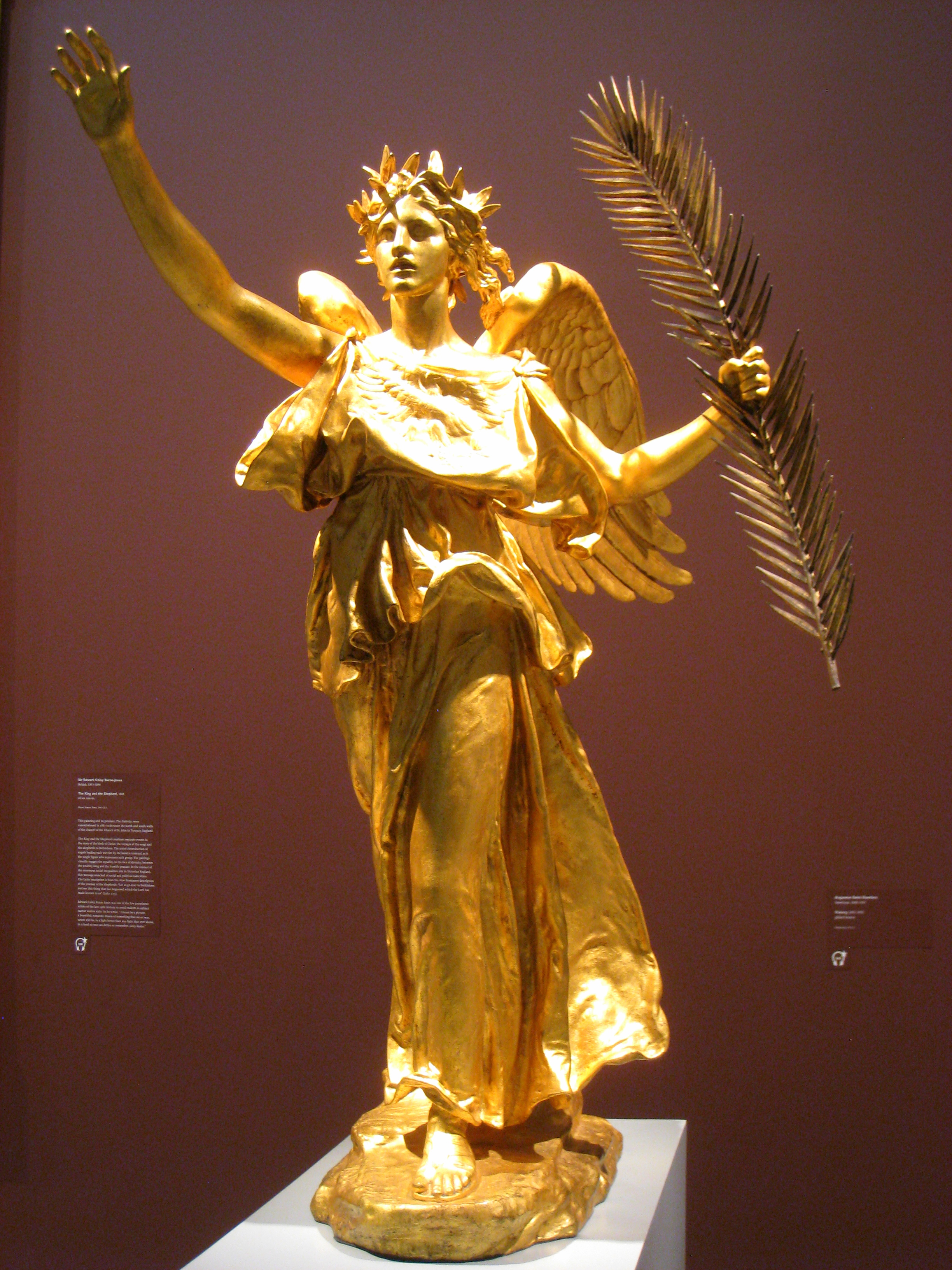 file augustus saint gaudens victory 1892 1903 img wikimedia commons. Black Bedroom Furniture Sets. Home Design Ideas