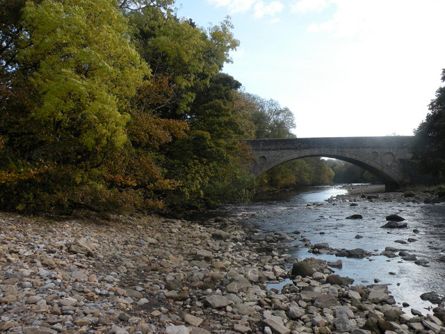 Autumn on the river Tees - geograph.org.uk - 1541903