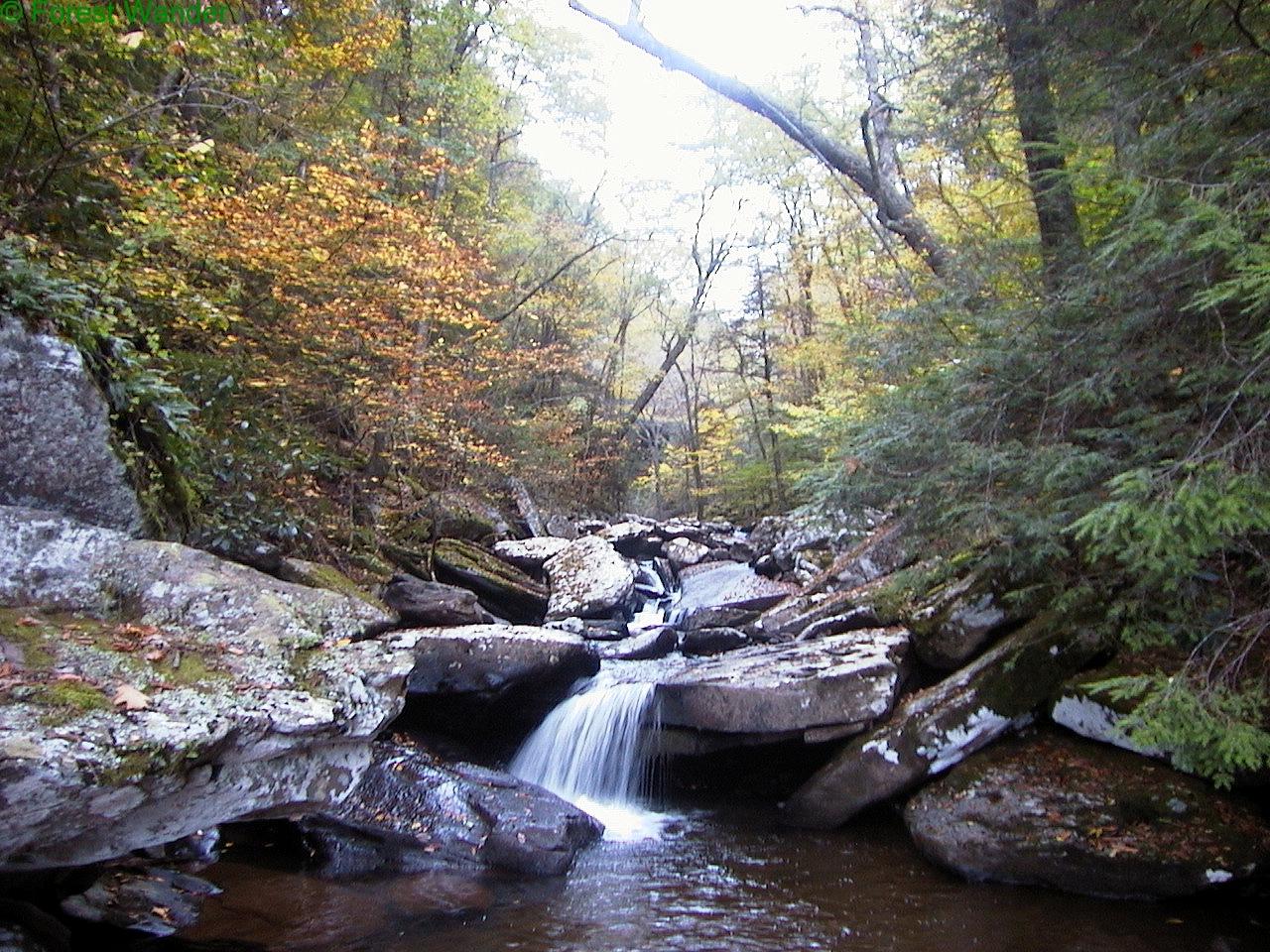 File:Autumun-waterfall-hills-creek ForestWander.JPG
