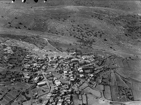 Beit Ur Fawqa Aerial, 1931 Cropped