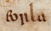 Early mention of earls in an ancient manuscript