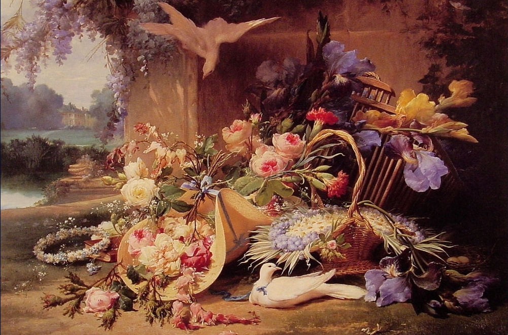 file bidau eugene elegant still life with flowers