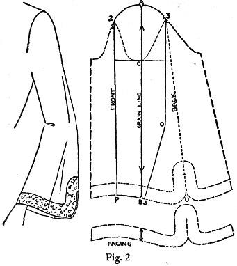 Fashion Drawing Balloon Dress