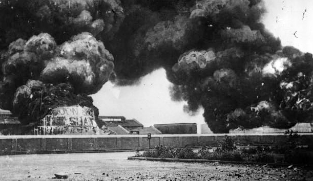File:Bombardment of Madras by S.S. Emden 1914.jpg