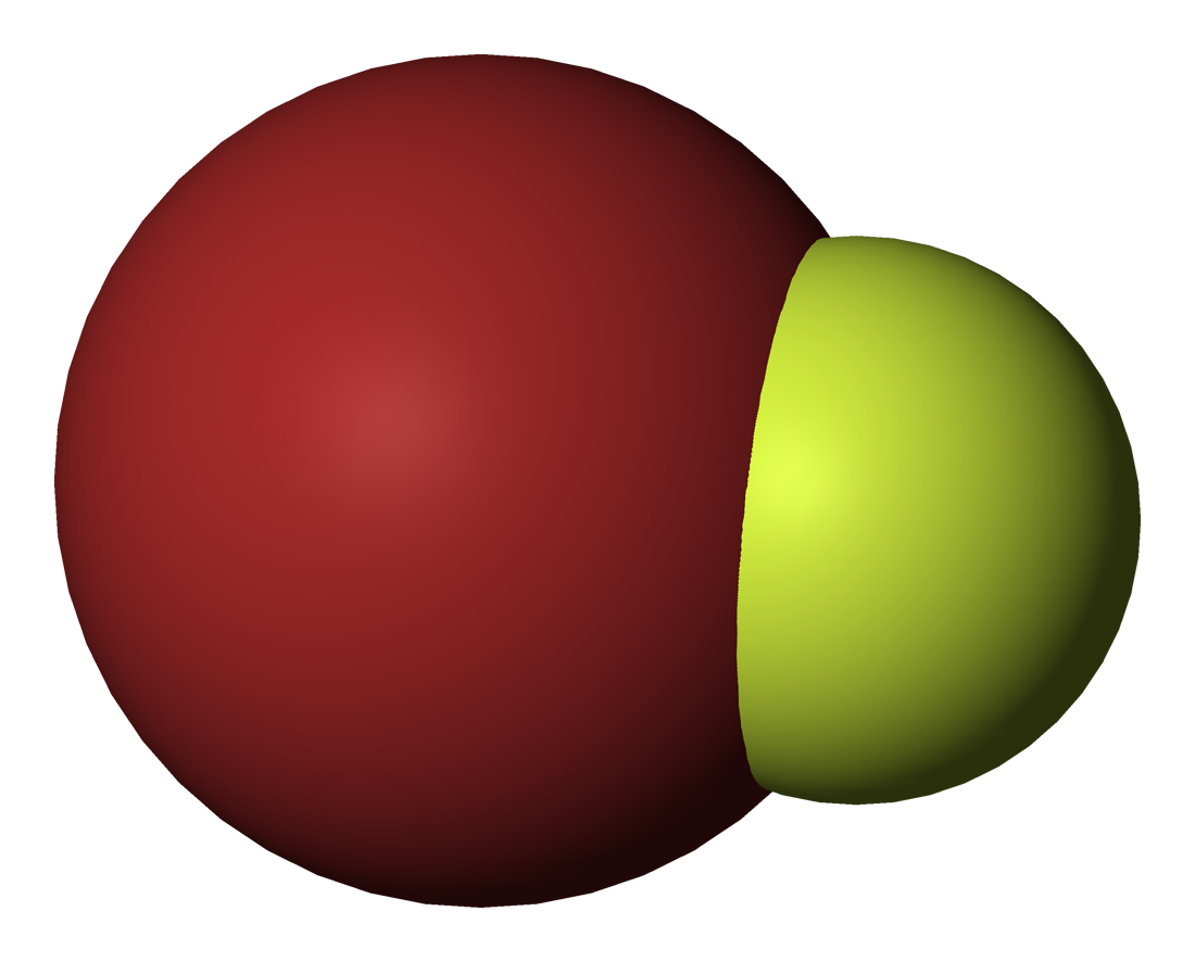 Bromine Monofluoride At Room Temperature