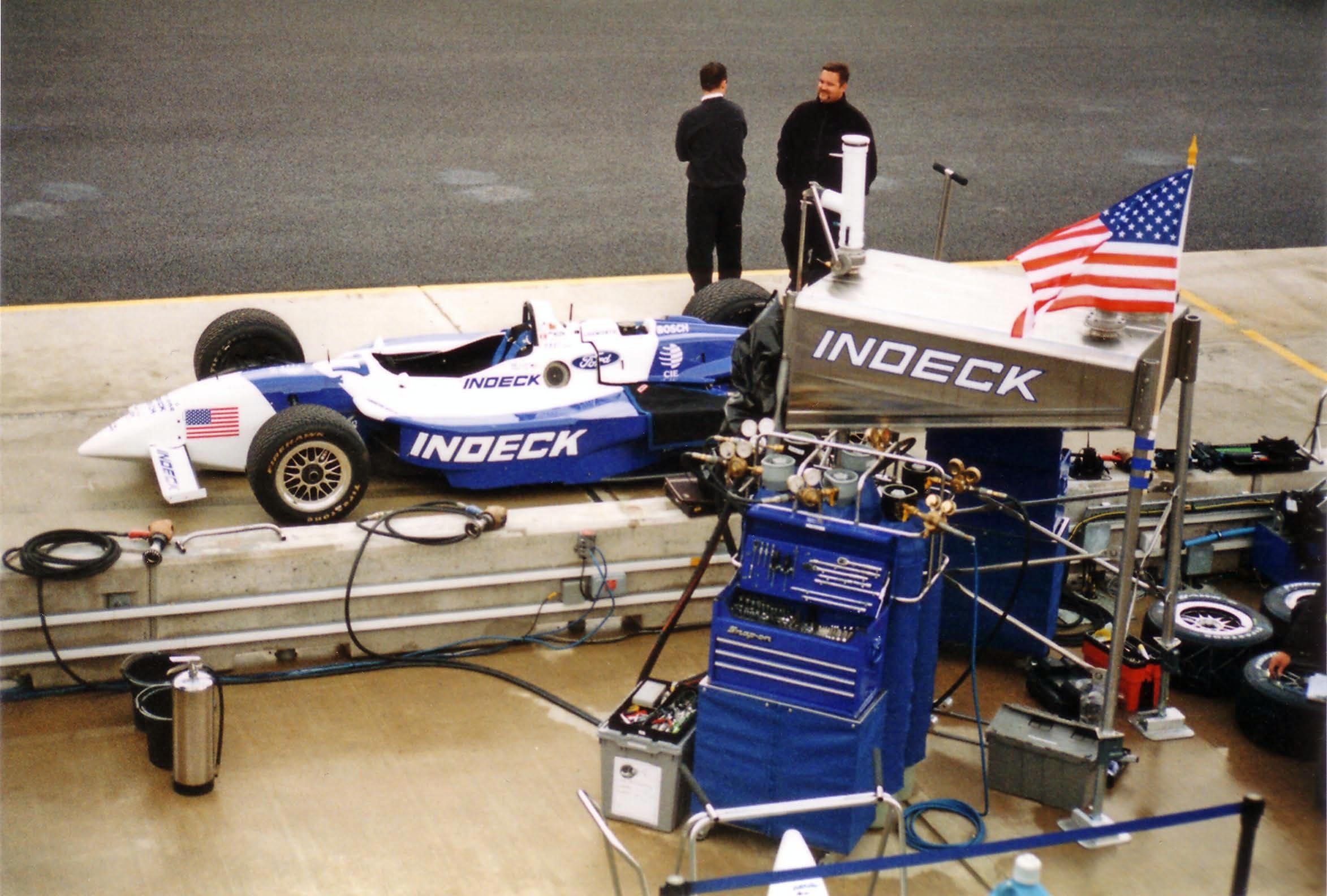 Depiction of Forsythe Racing
