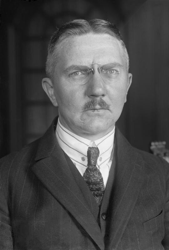 Image result for Hjalmar Schachts