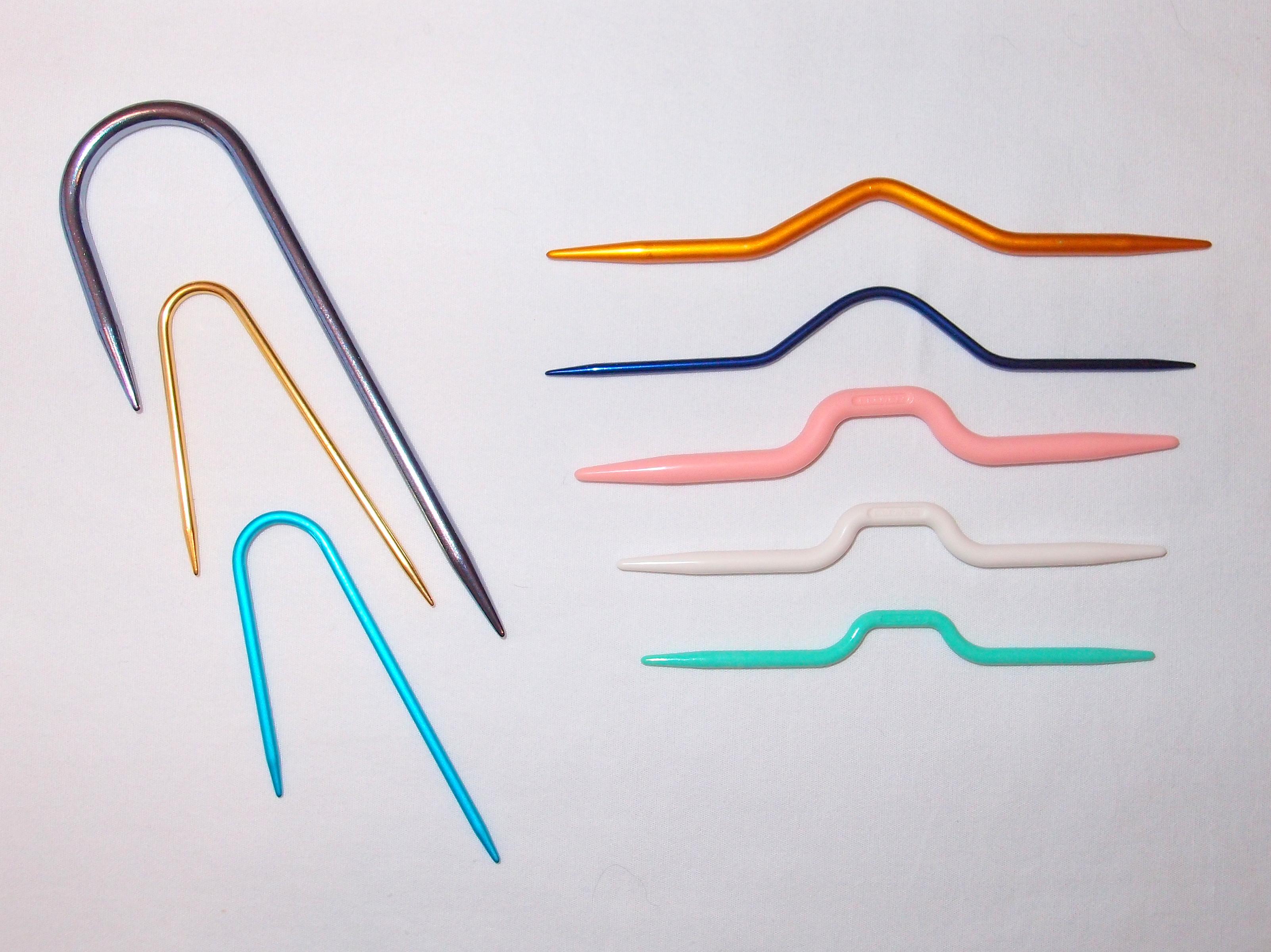 Rope Knitting Needles : Knitting basic knit stitch continental method