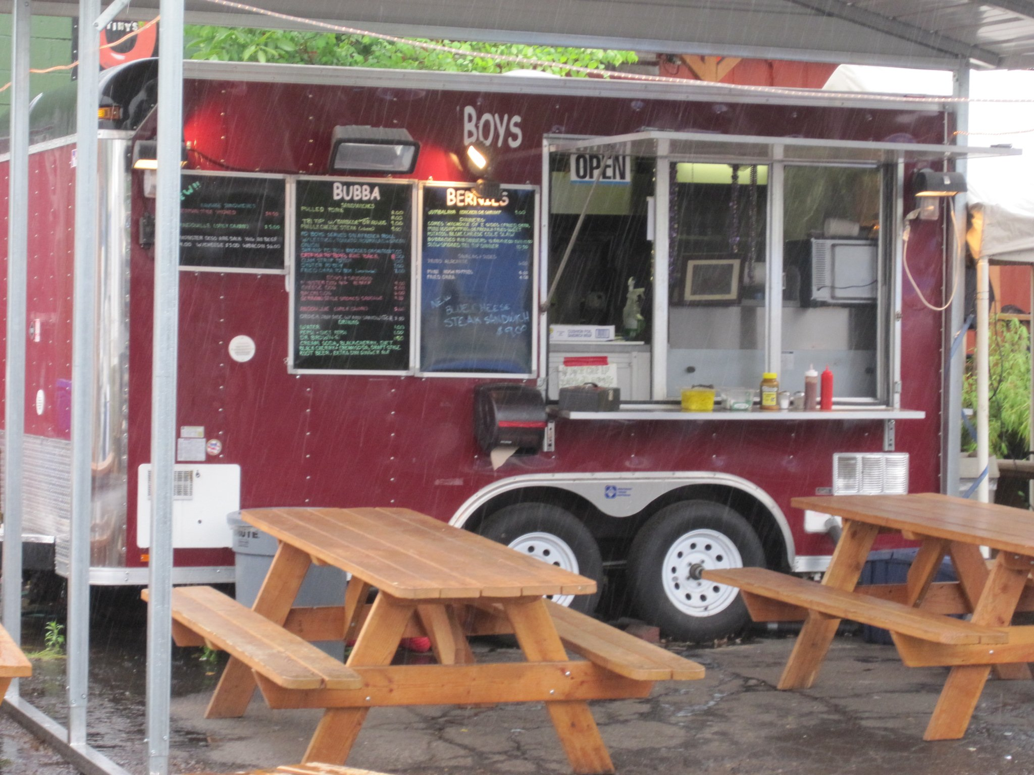 Cajun Food Truck Mena Arkansas Menu