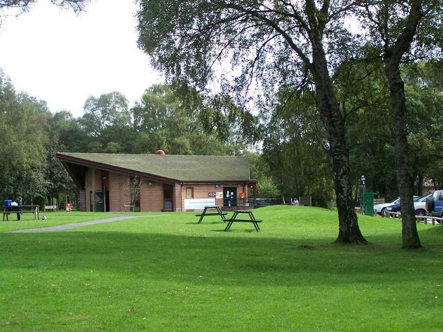 Cannock Chase Visitor Centre - geograph.org.uk - 240585