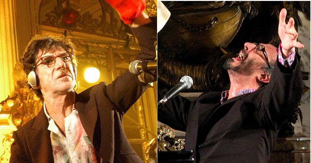 """En 1985 y 1986 Spinetta llevó adelante proyectos conjuntos con Charly García, de donde resultó la canción """"Rezo por vos"""" y con Fito Páez de donde surgió el álbum La la la."""