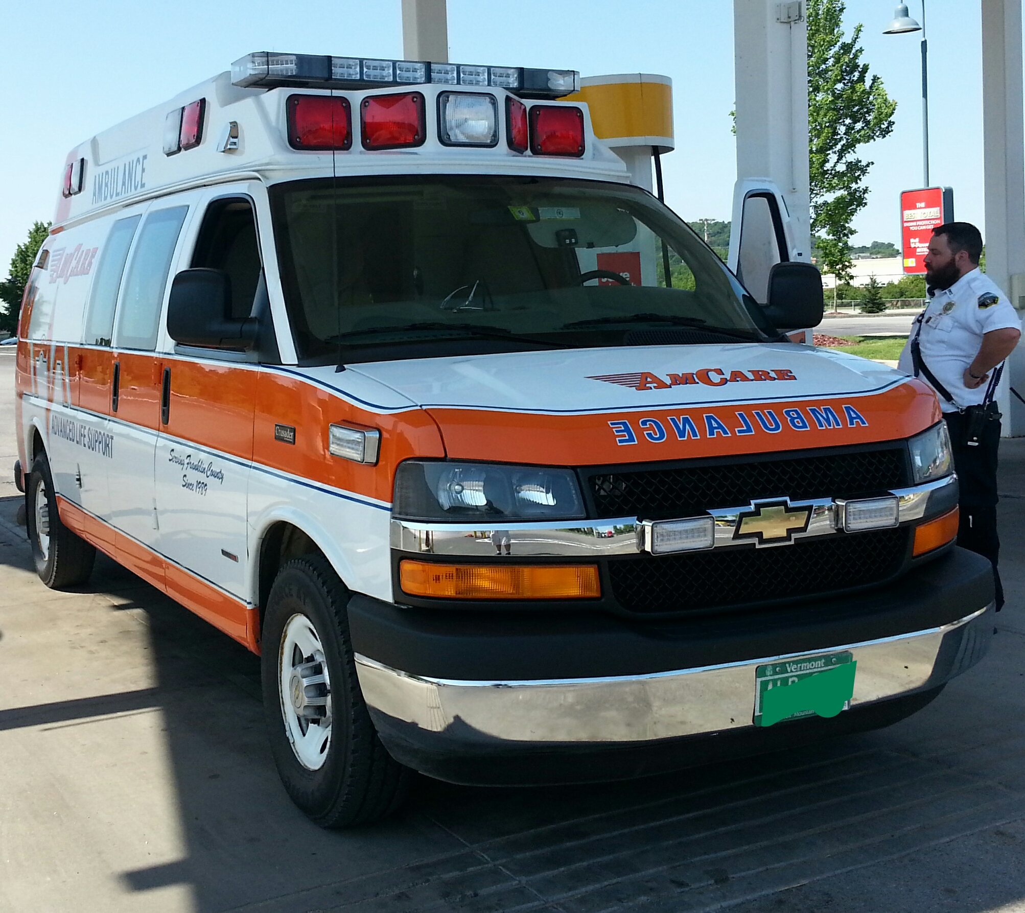 File Chevrolet Express Ambulance St Albans VT JPG