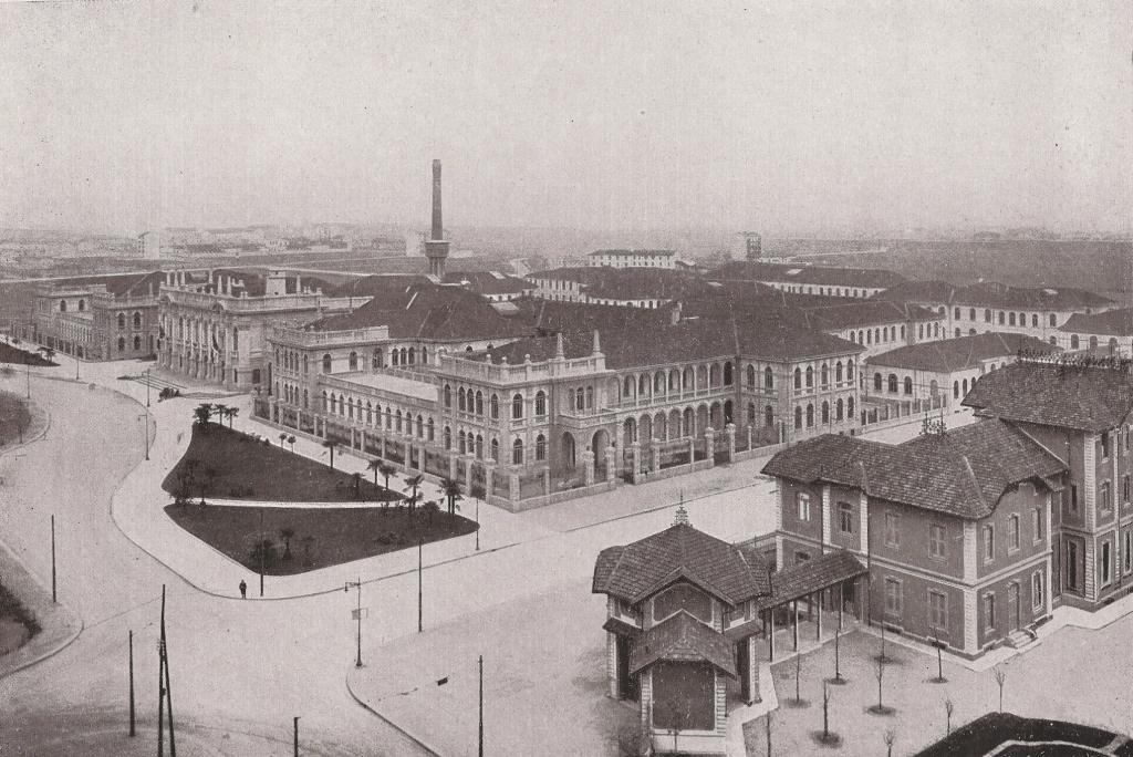 Giuseppe ferrario ingegnere wikipedia for Architettura politecnico di milano