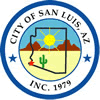 Official seal of San Luis, Arizona