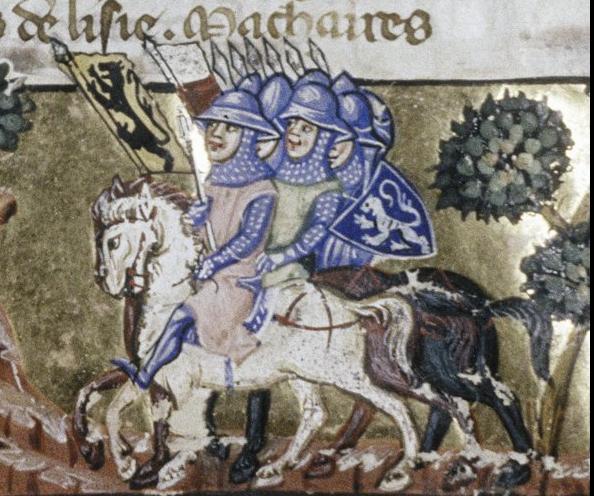 Crusaders at Constantinople