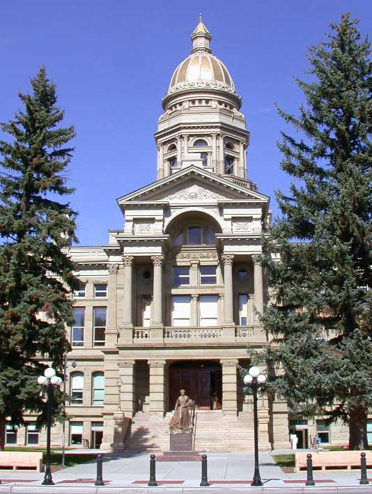 Wyoming State Capitol - Wikipedia