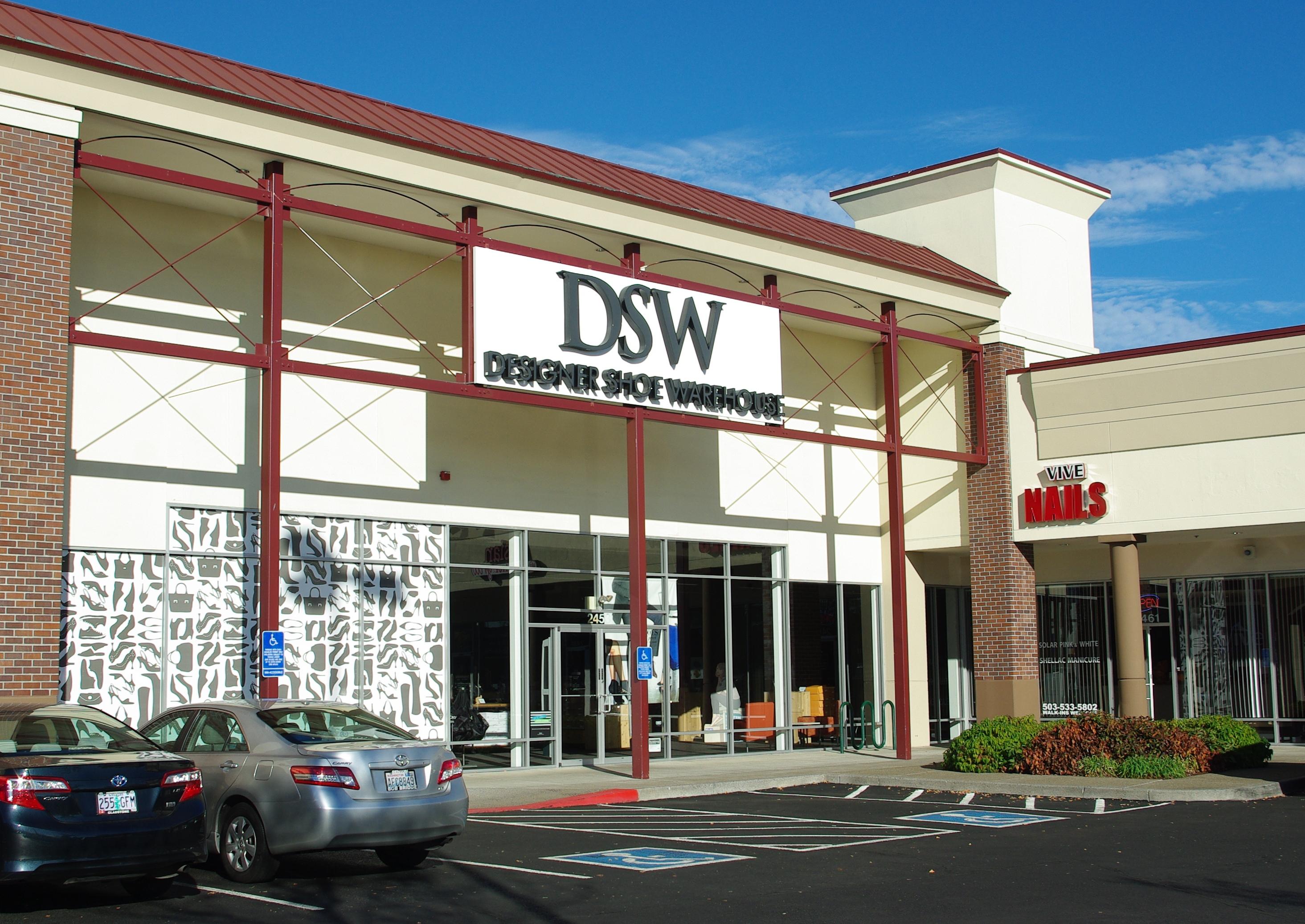 Dsw - File Dsw In Tanasbourne Hillsboro Oregon Jpg