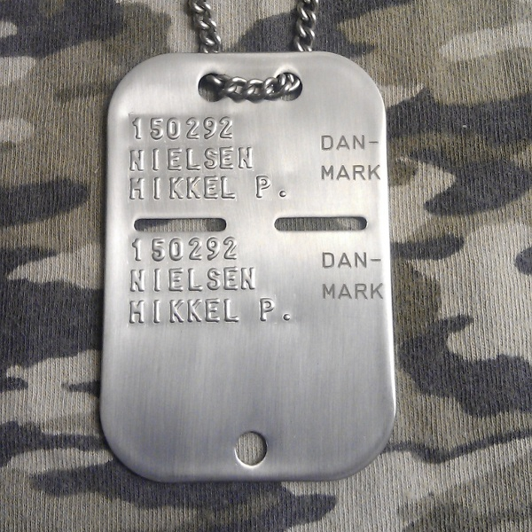 Gold Dog Tags Canada