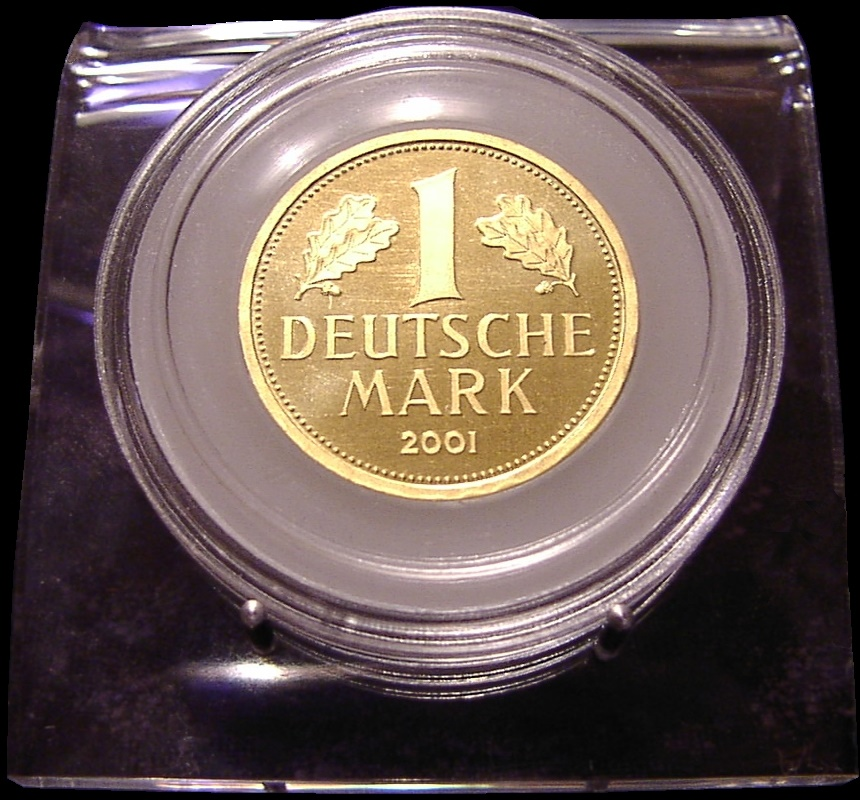 1 Mark (999 / 24kt.) 12,00 Gr. <br>Quelle und copyright:Wikipedia 2011