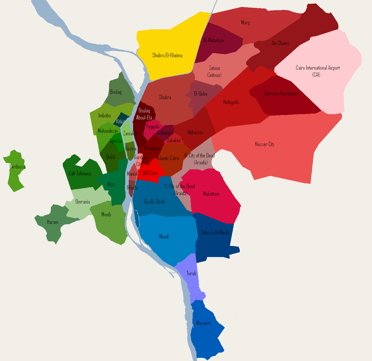 File:Districts of Cairo (small, English).PNG - Wikimedia Commons
